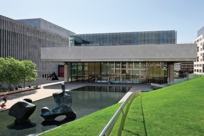 Lincoln Center Theater, past the Paul Milstein Pool and Terrace