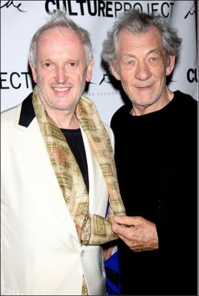 Sean Mathias and Ian McKellen