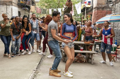"""Anthony Ramos and Melissa Barrera in<i> In the Heights</i>""""><figcaption> <span class="""