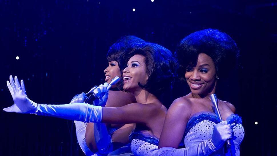 """Beyoncé Knowles, Anika Noni Rose, and Jennifer Hudson in the film version of <i>Dreamgirls </i>""""><figcaption> <span class="""