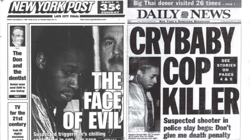 New York's tabloids portrayed Bell as the epitome of evil, a cold-blooded killer.