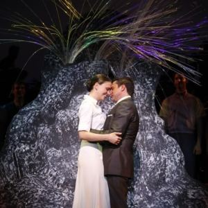 """Sutton Foster and Raul Esparza in <i>Anyone Can Whistle</i>""""><figcaption> <span class="""