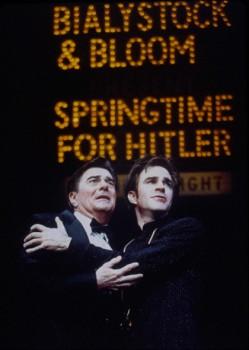 Gary Beach and Roger Bart