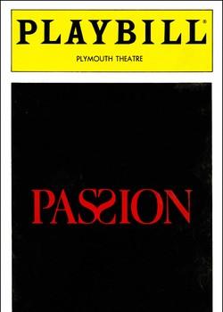 Passion Playbill - Oct 1994