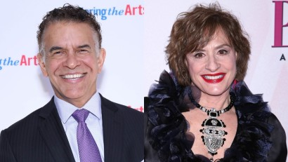 Brian Stokes Mitchell and Patti LuPone