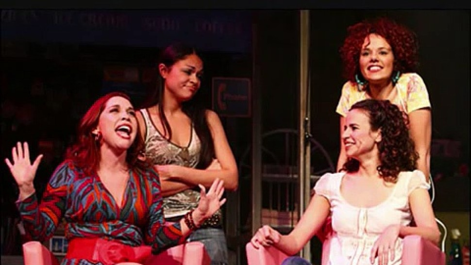 """Andréa Burns, Karen Olivo, Mandy Gonzalez, and Janet Dacal in <i>In the Heights</i>""""><figcaption> <span class="""