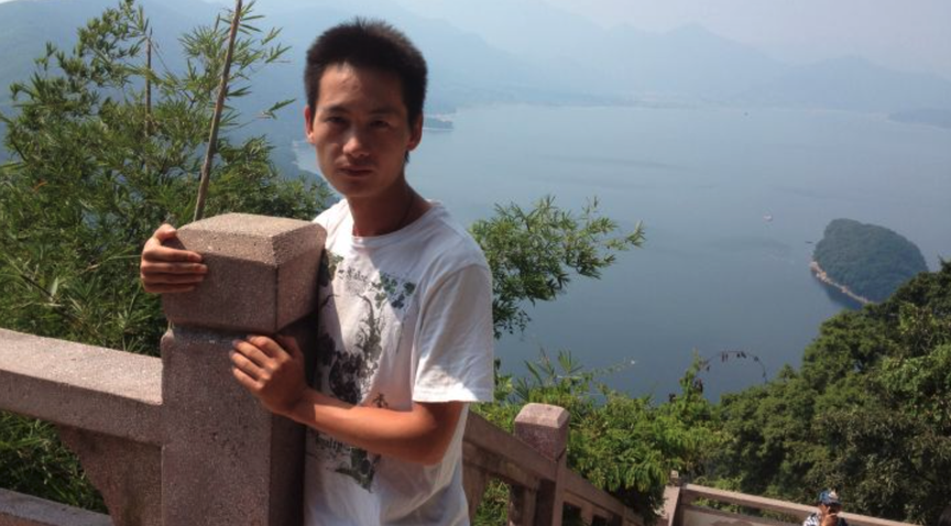 A picture of Xing Long Lin, the delivery person killed in Astoria while on the job.