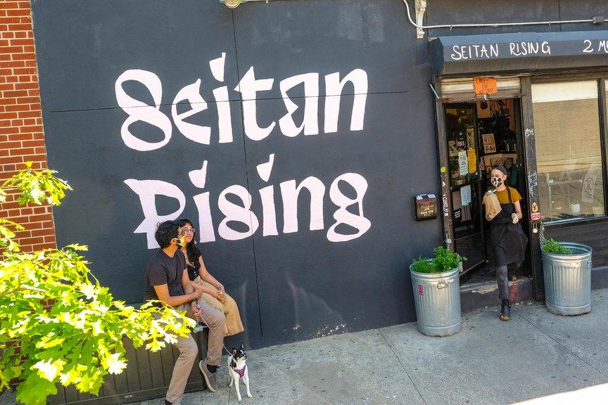 Seitan Rising sign