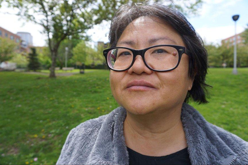 Close up photograph of Linda Toh