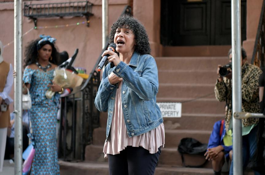Dianne Morales speaking